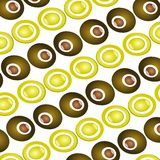 FunkY RetrO Patter. Illustration of a nice funky retro design Royalty Free Stock Photography