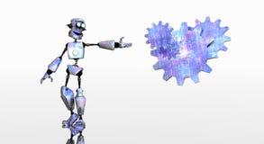 Funky robot Royalty Free Stock Photos
