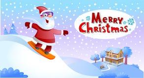 Funky Santa Claus Stock Image