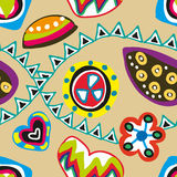 Funky seamless pattern Stock Photo