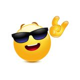 Funky smiley Royalty Free Stock Image
