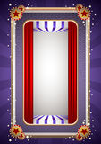 Funky Stage Frame Royalty Free Stock Photo