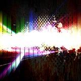 Funky Stedelijke Lay-out Grunge Royalty-vrije Stock Afbeelding