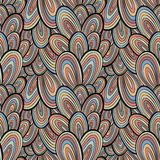 Funky style seamless pattern. Stock Photography