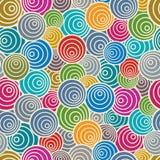 Funky style seamless pattern. Stock Photos