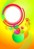 Funky Summer Background Royalty Free Stock Images