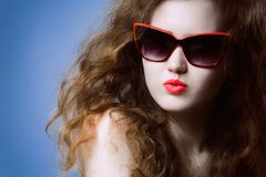 Funky summer portrait Stock Photography
