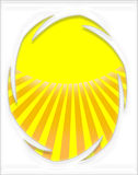 Funky Sun Background 2 Royalty Free Stock Images