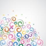Funky Swirls. Stock Images