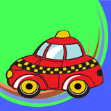 Funky taxi Royalty Free Stock Photo