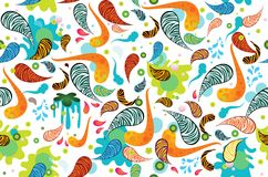 Funky texture background royalty free illustration