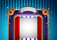Funky theatre Stage Royalty Free Stock Photo