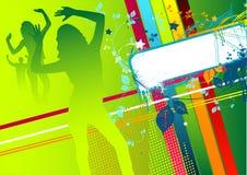 Funky Tijd van de Disco stock illustratie