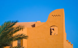 Funky town of El Gouna Royalty Free Stock Images