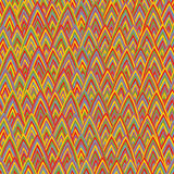 Funky triangles seamless pattern Royalty Free Stock Image