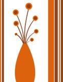 Funky vase Royalty Free Stock Image