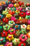 Funky vormen en kleuren Stock Foto's
