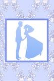 Funky wedding invitation Stock Photography