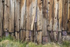 Funky Wood Wall Stock Images