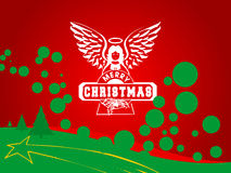A funky Xmas. Merry Christmas Royalty Free Stock Images