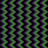 Funky Zigzagpatroon Royalty-vrije Stock Afbeelding