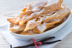 Funnel cake. A fresh and tasty Funnel cake Stock Image