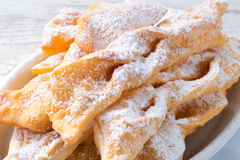 Funnel cake. A fresh and tasty Funnel cake Stock Photo