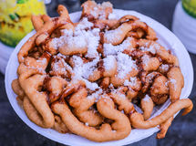 Funnel Cake royalty free stock photos