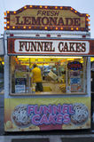 Funnel Cake Stand at a Festival royalty free stock image