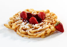 Funnel cake Royalty Free Stock Photo