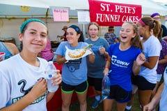 Funnel Cakes at Elizabethtown Fair Stock Photos