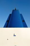 Funnel of ferry royalty free stock photo
