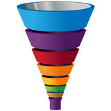 Funnel Stock Photography
