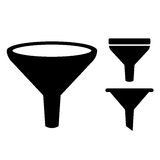 Funnel icon Stock Photo