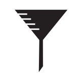 Funnel icon vector Royalty Free Stock Photos