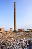 Funnel - industrial ruins Royalty Free Stock Photos