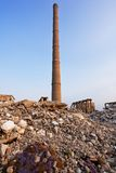 Funnel - industrial ruins Stock Images