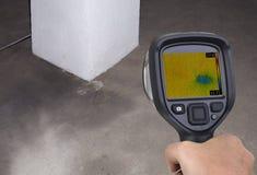 Funnel Leak Infrared Stock Image