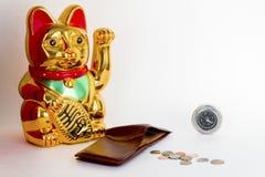 Funneling money Stock Photos