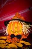 Funniest Halloween pumpkin Royalty Free Stock Photo