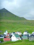 Funnigur - Фарерские острова Стоковая Фотография RF