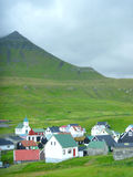 Funnigur - Faroe Island Royaltyfri Fotografi