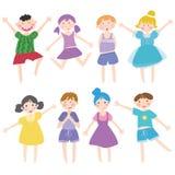 funning dzieciaki Obraz Royalty Free