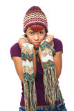 Funny African American Expression Stock Image