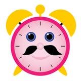 Funny alarm clock Royalty Free Stock Image