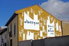 Funny albergue Stock Photos