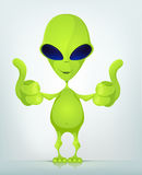 Funny Alien Stock Photography