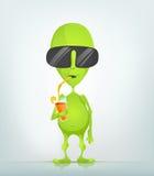 Funny Alien Stock Photo