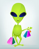 Funny Alien Royalty Free Stock Photography