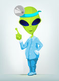 Funny Alien Stock Photo